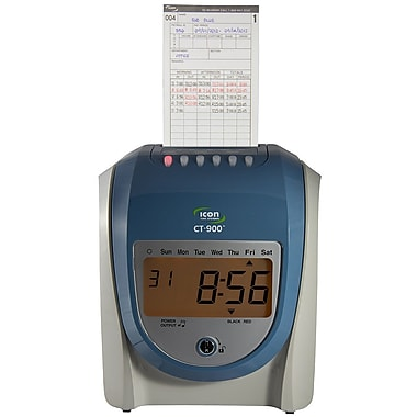 Icon Time Systems CT-900 Calculating Time Recorder