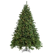 Sterling Inc HB 7.5' Grand Canyon Spruce Christmas Tree w/ 1200 Multi Lights w/ Stand