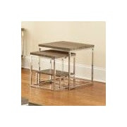 Steve Silver Furniture Lucia 2 Piece Nesting Tables