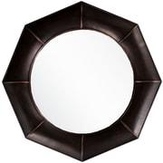 """Surya MRR1008-3232 32"""" x 32"""" Frame made from MDF Mirror, Bronze"""