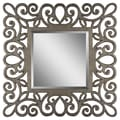 Surya RWM2006-4242 42in. x 42in. Frame made from MDF Mirror, Pewter