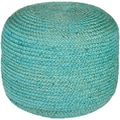 Surya TPPF-001 14in. x 20in. x 20in. Jute Pouf