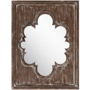 "Surya MRR1001-3040 30"" x 40"" Frame made from MDF Mirror, Baltic"