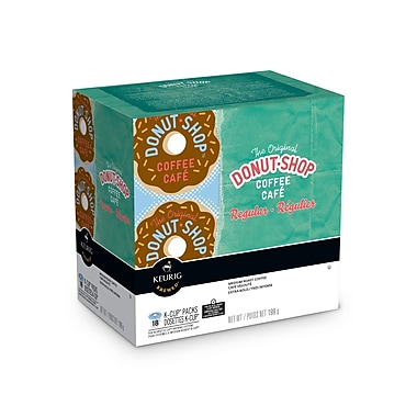 The Original Donut Shop – Café Régulier en godets K-Cup, 18 recharges