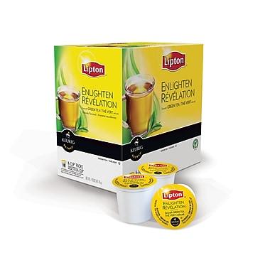 Lipton Enlighten Green Tea K-Cup, 18 Refills