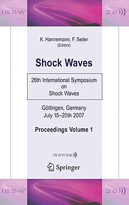 Shock Waves: 26th International Symposium on Shock Wave 1387594