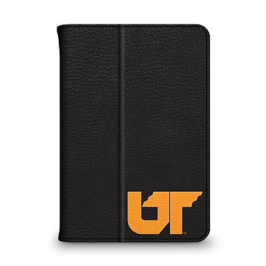 Centon Leather Folio Black Carrying Case For iPad Mini, University Of Tennessee