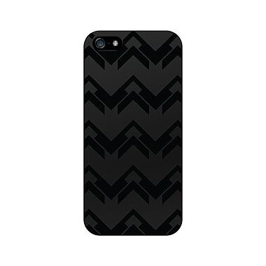 Centon OTM™ Matte Collection Case For iPhone 5, Black/Black Herring