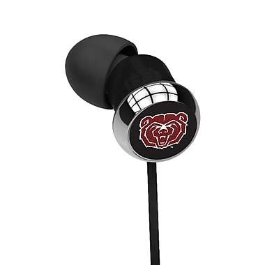 Centon OTM™ S1 - CEB Black In-Ear Headphone, Mississippi State University