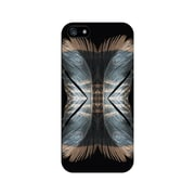 Centon OTM™ Matte Feather Collection Case For iPhone 5, Black/Doubles