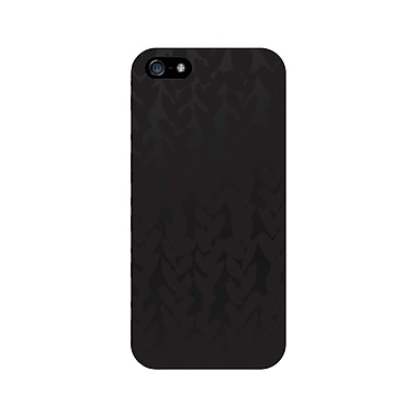 Centon OTM™ Matte Collection Case For iPhone 5, Black/Black Hearts
