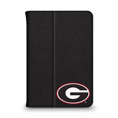 Centon Leather Folio Black Carrying Case For iPad Mini, University Of Georgia