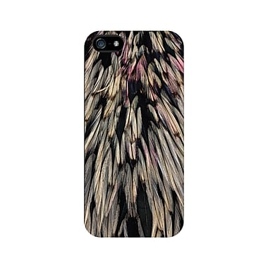 Centon OTM™ Matte Feather Collection Case For iPhone 5, Black/Wings