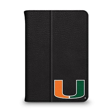 Centon Leather Folio Black Carrying Case For iPad Mini, University Of Miami