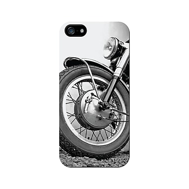 Centon OTM™ Matte Rugged Collection Case For iPhone 5, Black/Motorcycle