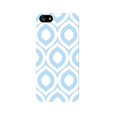 Centon OTM™ Glossy Elm Collection Case For iPhone 5, White/Sky Blue