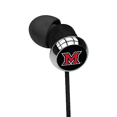 Centon OTM™ S1 - CEB Black In-Ear Headphone, Miami University of Ohio