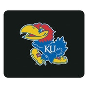 "Centon 8.5"" Black Classic Mouse Pad, University Of Kansas"