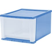 IRIS® Usa, Inc. Stacking Drawers, Sunkissed & Clear
