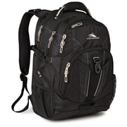 High Sierra Black Ballistic Nylon XBT TSA Backpack (57999-1041)