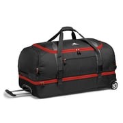 "High Sierra Polyester Sportour Drop-Bottom Wheeled Duffel 28"" x 14"""
