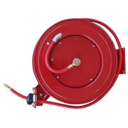 Buffalo Tools Black Bull™ 50' Retractable Air Hose Reel With Auto Rewind, Red