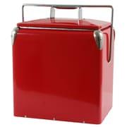 AmeriHome™ 12 qt. Retro Style Picnic Cooler