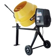 Pro Series 4 Cubic Foot Electric Cement Mixer, Yellow