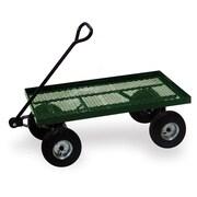 """Buffalo Tools Sportsman HDTFLATB Flatbed Cart, 37""""L x 19""""W x 4""""H"""