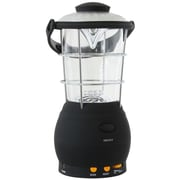 Sportsman™ Series Super Bright LED Lantern With Hand Crank Power, Black