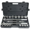 Pro Series 21 Piece SAE Socket Set, 3/4in. Drive