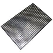 Buffalo Tools Industrial Rubber Floor Mat, 2' x 3', Black