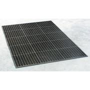 Buffalo Tools Industrial Rubber Floor Mat, 3' x 5', Black