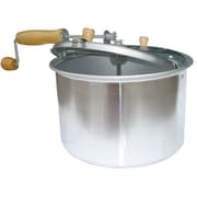 Buffalo Tools AmeriHome 6 qt. Popcorn Popper With Wooden Handle