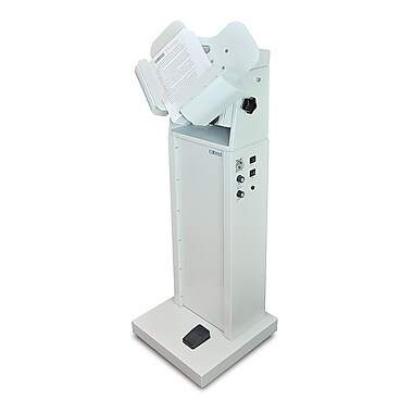 Formax® FD 404A1 High Capacity Single Bin Air and Vibration Jogger, 3000 Vibrations/Minute