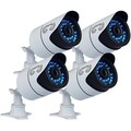 Night Owl 900TVL Hi-Resolution Security Camera With 100' Night Vision, 4/Pack