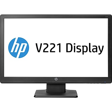 "HP E2T08A8#ABA 21.5"" Black LCD Monitor, DVI"