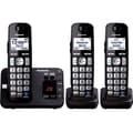 Panasonic KX-TGE233B Cordless Digital Phone With 2 Handsets, 100 Name/Number