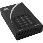 Apricorn Aegis Padlock DT FIPS 2TB Desktop USB 3.0 External Desktop Hard Drive (Black)