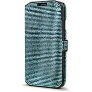 Cellairis® DeBari® Duet Crystaria Diary Case For Samsung Galaxy S5, Sky Blue