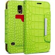Cellairis® Bespoke™ Wristlet Alligator Diary Case For Samsung Galaxy S5, Kelly Green