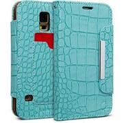 Cellairis® Bespoke™ Wristlet Alligator Diary Case For Samsung Galaxy S5, Turquoise