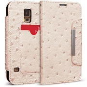 Cellairis® Bespoke™ Wristlet Ostrich Diary Case For Samsung Galaxy S5, Ivory