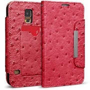 Cellairis® Bespoke™ Wristlet Ostrich Diary Case For Samsung Galaxy S5, Hot Pink