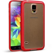 Cellairis® Matter Double Agent Case For Samsung Galaxy S5, Clear/Red