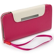 Cellairis® Bespoke™ Wristlet Diary Case For 4.7 iPhone 6, Hot Pink/Ivory