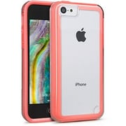 Cellairis® Matter Jetset Case For iPhone 5C, Clear/Pink