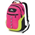 High Sierra Ripstop Opie Backpack Fuchsia, Chartreus & Black