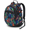 High Sierra Waffle Fat Boy Backpack 19.5in. x 13in., Cube Climb & Black