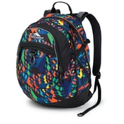 High Sierra Waffle Fat Boy Backpack 19.5 x 13, Cube Climb & Black